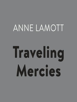 cover image of Traveling Mercies