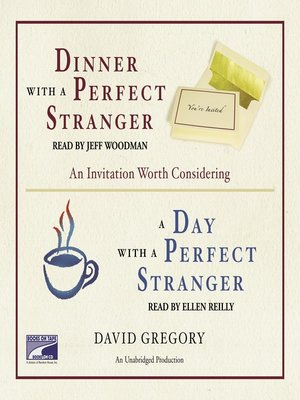 cover image of Dinner With a Perfect Stranger and Day With a Perfect Stranger