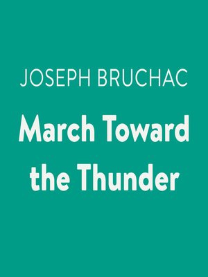 cover image of March Toward the Thunder
