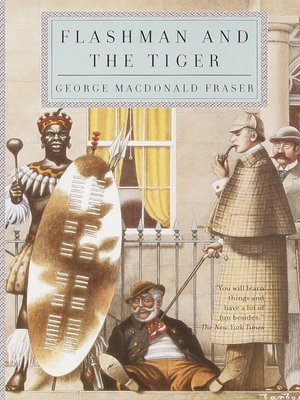 cover image of Flashman and the Tiger
