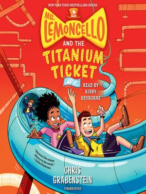 cover image of Mr. Lemoncello and the Titanium Ticket