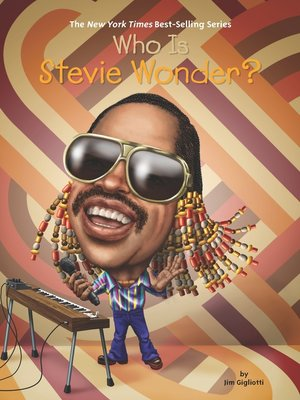 cover image of Who is Stevie Wonder?