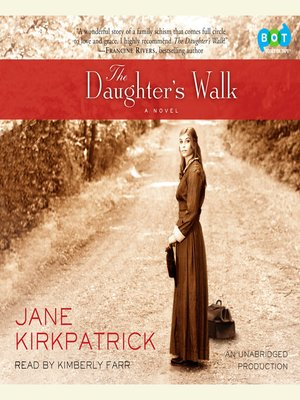 cover image of The Daughter's Walk