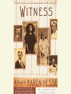 cover image of Witness