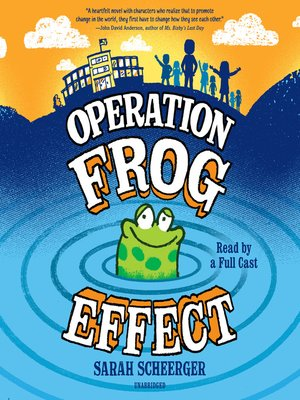 cover image of Operation Frog Effect