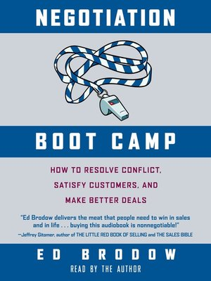 cover image of Negotiation Boot Camp