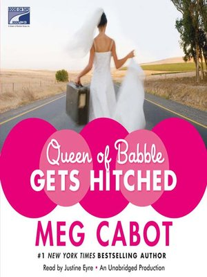 cover image of Queen of Babble Gets Hitched