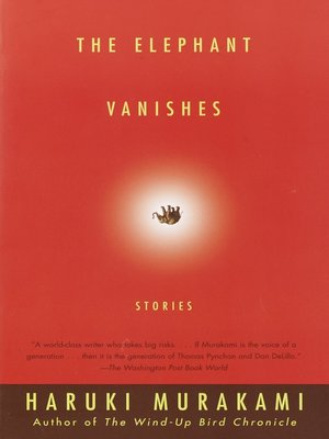 cover image of The Elephant Vanishes