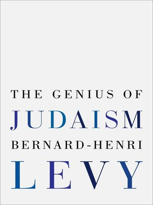 cover image of The Genius of Judaism