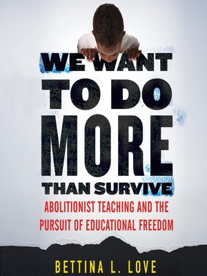 cover image of We Want to Do More Than Survive