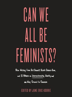 cover image of Can We All Be Feminists?
