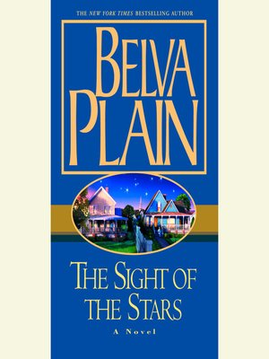 cover image of The Sight of the Stars