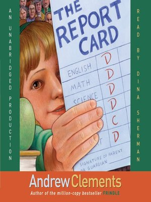 the report card book summary andrew clements Andrew clements hardcover books  clements, andrew - new hardcover book $1392  the report card by andrew clements (2004.