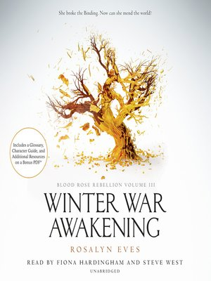 cover image of Winter War Awakening (Blood Rose Rebellion, Book 3)