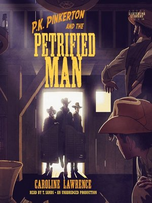 cover image of P. K. Pinkerton and the Petrified Man