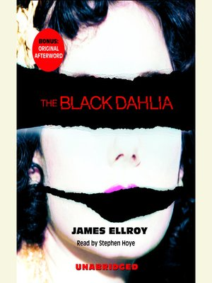 cover image of The Black Dahlia