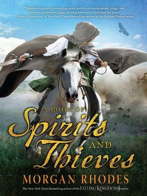 cover image of A Book of Spirits and Thieves