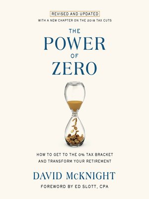 cover image of The Power of Zero, Revised and Updated