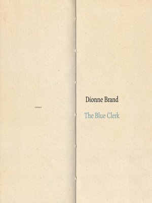 cover image of The Blue Clerk