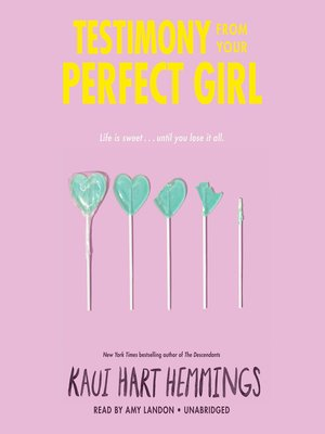 cover image of Testimony from Your Perfect Girl