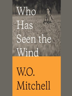 cover image of Who Has Seen the Wind