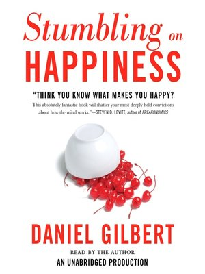 cover image of Stumbling on Happiness