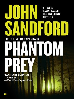 cover image of Phantom Prey