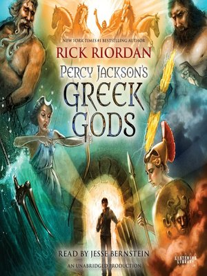 cover image of Percy Jackson's Greek Gods