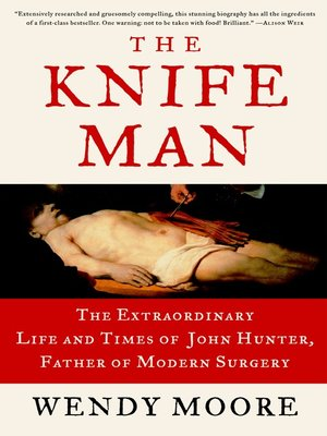 cover image of The Knife Man