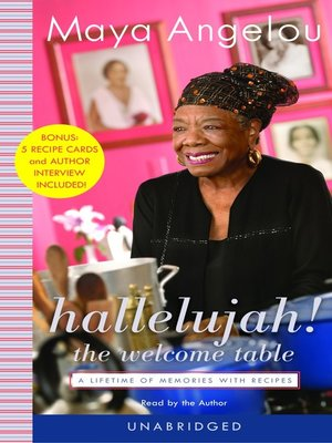 cover image of Hallelujah! the Welcome Table