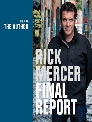 cover image of Rick Mercer Final Report