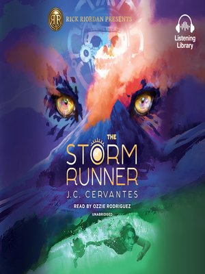 cover image of The Storm Runner