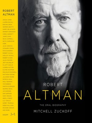 cover image of Robert Altman