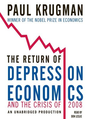 cover image of The Return of Depression Economics and the Crisis of 2008