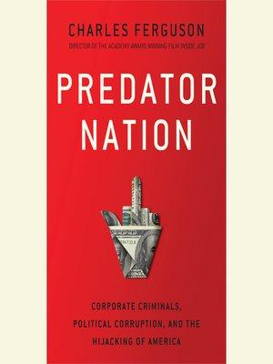 cover image of Predator Nation