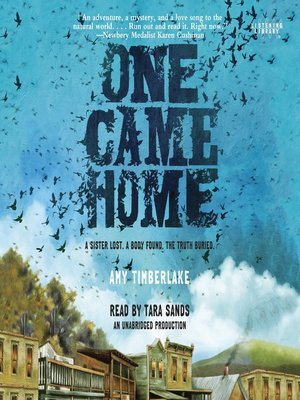 cover image of One Came Home
