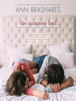 cover image of The Summer Bed