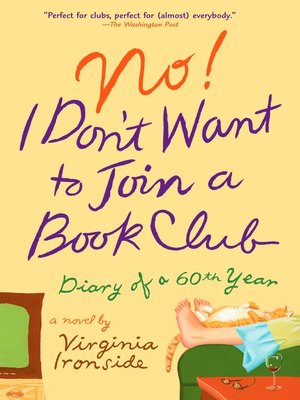 cover image of No! I Don't Want to Join a Book Club