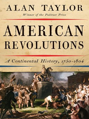 cover image of American Revolutions