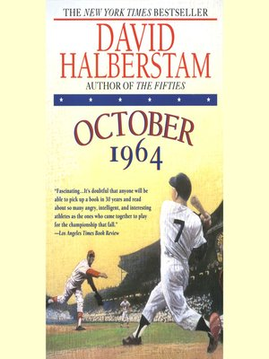 cover image of October 1964