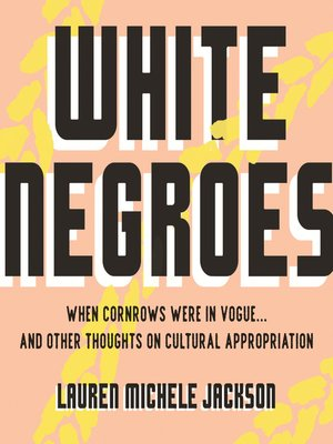 cover image of White Negroes