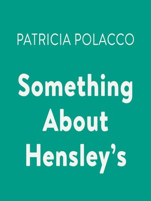 cover image of Something About Hensley's