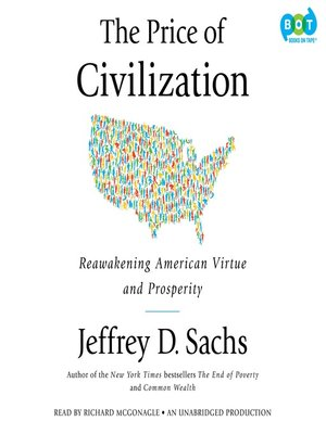 cover image of The Price of Civilization