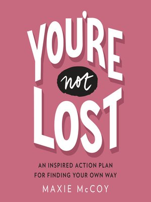 cover image of You're Not Lost