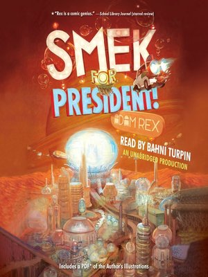 cover image of Smek for President!