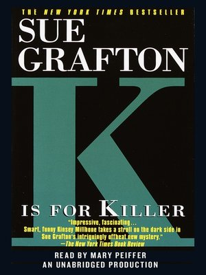 """cover image of """"K"""" is for Killer"""
