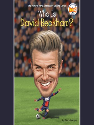 cover image of Who Is David Beckham?