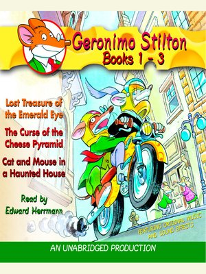 cover image of Geronimo Stilton, Books 1-3