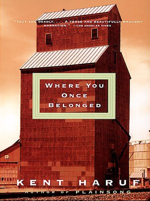 cover image of Where You Once Belonged