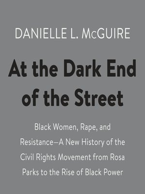 cover image of At the Dark End of the Street